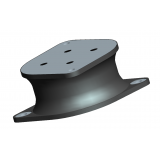 Rubber Shear Anti Vibrational Mount Style Number 6836