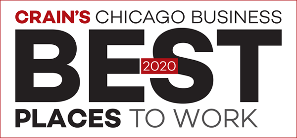 Crains Chicago Business Best Places to Work 2020