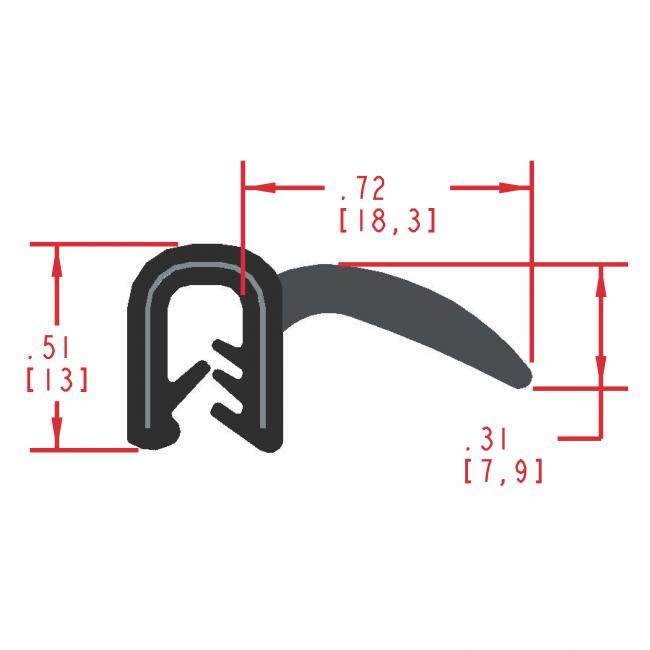 MC700 - extruded wiper seal