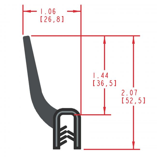 MC9010 - Extruded Wiper Seal