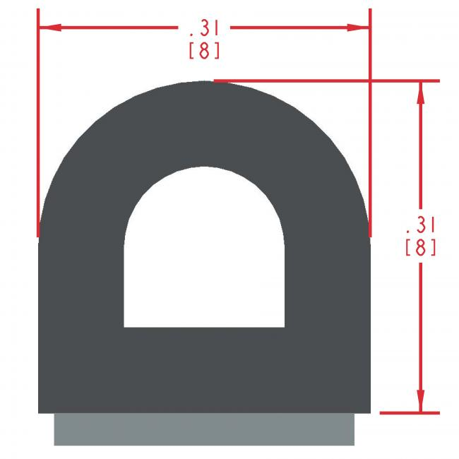 Sponge Rubber Seal Profile ES300